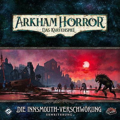 Einfach und sicher online bestellen: Arkham Horror: LCG - Die Innsmouth Verschwörung in Österreich kaufen.