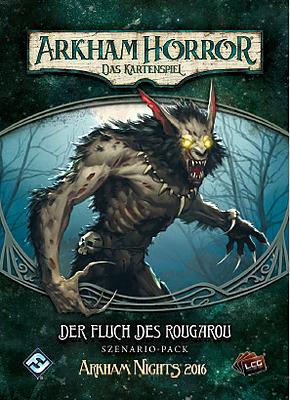 Einfach und sicher online bestellen: Arkham Horror LCG - Fluch des Rougarou in Österreich kaufen.