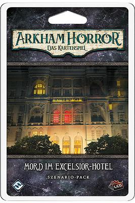 Einfach und sicher online bestellen: Arkham Horror: LCG - Mord im Excelsior-Hotel in Österreich kaufen.