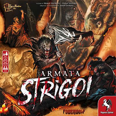 Einfach und sicher online bestellen: Armata Strigoi - das Powerwolf Brettspiel in Österreich kaufen.