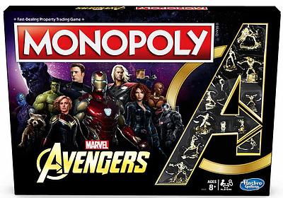 Einfach und sicher online bestellen: Avengers Monopoly in Österreich kaufen.