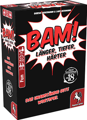 Einfach und sicher online bestellen: Bam! Länger, Tiefer, Härter in Österreich kaufen.