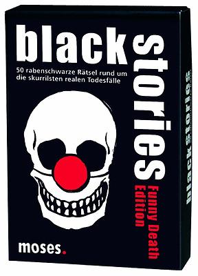Einfach und sicher online bestellen: Black Stories: Funny Death in Österreich kaufen.