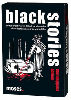 Einfach und sicher online bestellen: Black Stories: Shit Happens Edition in Österreich kaufen.