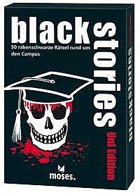 Einfach und sicher online bestellen: Black Stories - Uni Edition in Österreich kaufen.