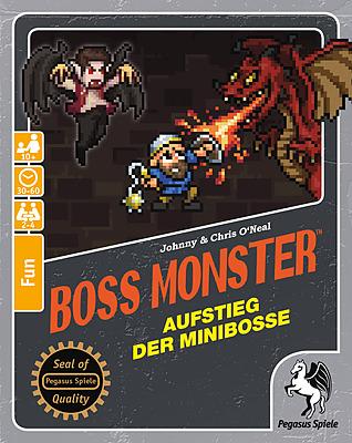 Einfach und sicher online bestellen: Boss Monster: Aufstieg der Minibosse in Österreich kaufen.