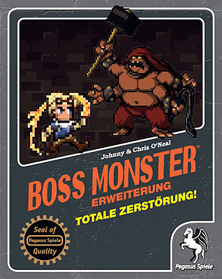Einfach und sicher online bestellen: Boss Monster: Totale Zerstörung! in Österreich kaufen.
