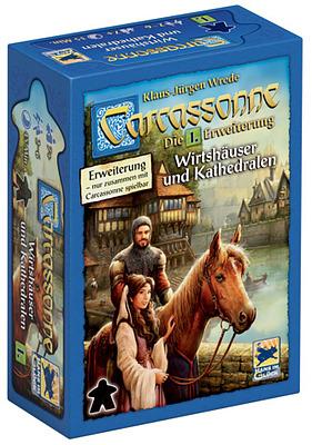 Einfach und sicher online bestellen: Carcassonne: Wirtshäuser und Kathedralen in Österreich kaufen.