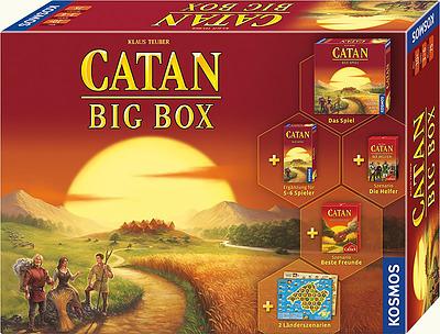 Einfach und sicher online bestellen: Catan: Big Box 2019 in Österreich kaufen.
