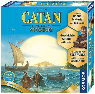 Einfach und sicher online bestellen: Catan: Seefahrer (20 Jahre Jubiläums-Edition) in Österreich kaufen.