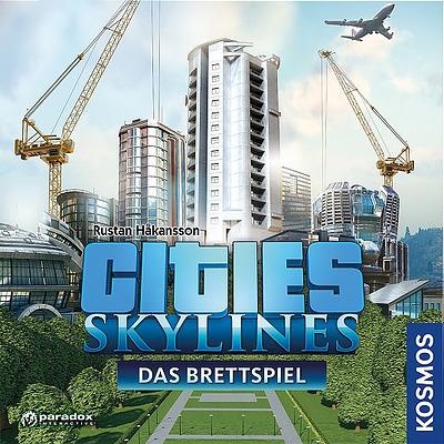 Einfach und sicher online bestellen: Cities Skylines Das Brettspiel in Österreich kaufen.