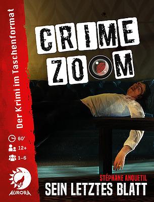 Einfach und sicher online bestellen: Crime Zoom Fall 1: Sein letztes Blatt in Österreich kaufen.