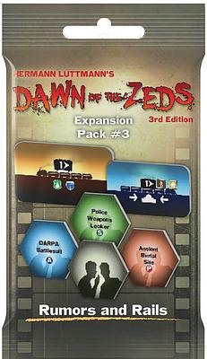 Einfach und sicher online bestellen: Dawn of the Zeds 3rd Edition Rumors and Rails in Österreich kaufen.
