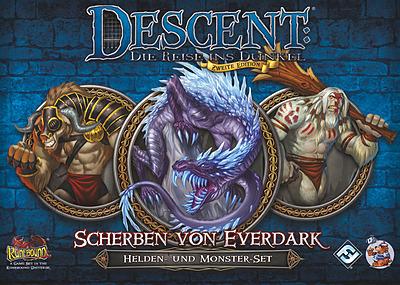 Einfach und sicher online bestellen: Descent 2. Edition: Scherben von Everdark in Österreich kaufen.