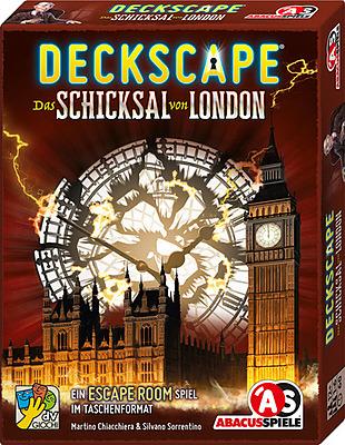 Einfach und sicher online bestellen: Deckscape - Das Schicksal von London in Österreich kaufen.