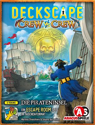 Einfach und sicher online bestellen: Deckscape - Crew vs Crew in Österreich kaufen.