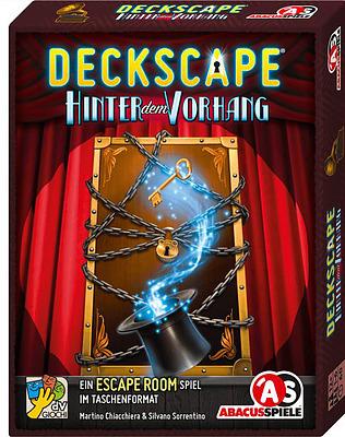 Einfach und sicher online bestellen: Deckscape - Hinter dem Vorhang in Österreich kaufen.