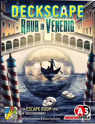 Einfach und sicher online bestellen: Deckscape - Raub in Venedig in Österreich kaufen.