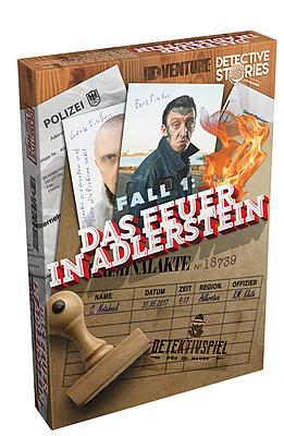 Einfach und sicher online bestellen: Fall 1: Das Feuer in Adlerstein in Österreich kaufen.