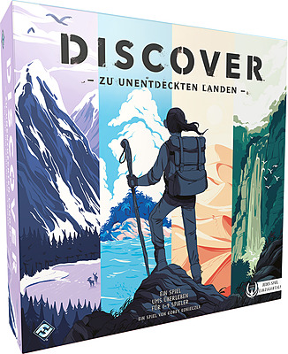 Einfach und sicher online bestellen: Discover: Zur unentdeckten Landen in Österreich kaufen.