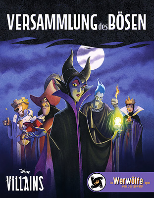 Einfach und sicher online bestellen: Disney Villains - Versammlung des Bösen in Österreich kaufen.