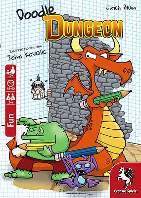 Einfach und sicher online bestellen: Doodle Dungeon in Österreich kaufen.