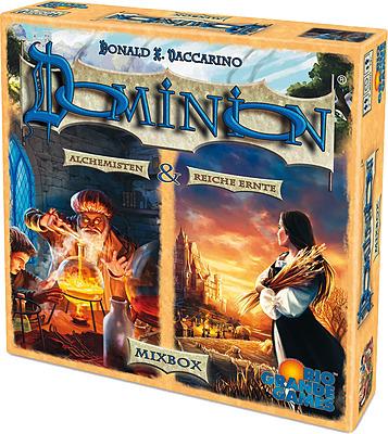 Einfach und sicher online bestellen: Dominion Mixbox: Reiche Ernte + Alchemisten in Österreich kaufen.