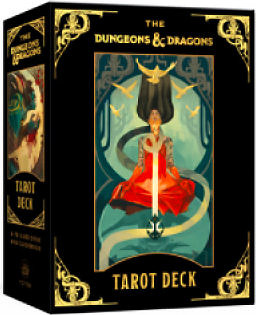 Einfach und sicher online bestellen: Dungeons & Dragons Tarot Deck in Österreich kaufen.