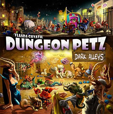 Einfach und sicher online bestellen: Dungeon Petz - Dunkle Gassen in Österreich kaufen.