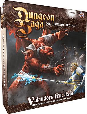 Einfach und sicher online bestellen: Dungeon Saga - Valandors Rückkehr in Österreich kaufen.