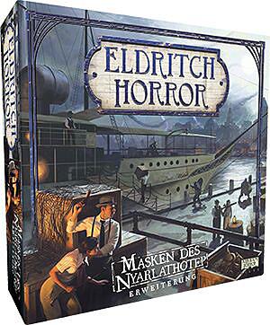 Einfach und sicher online bestellen: Eldritch Horror: Masken des Nyarlathotep in Österreich kaufen.