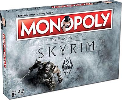 Einfach und sicher online bestellen: The Elder Scrolls Skyrim Monopoly Brettspiel in Österreich kaufen.