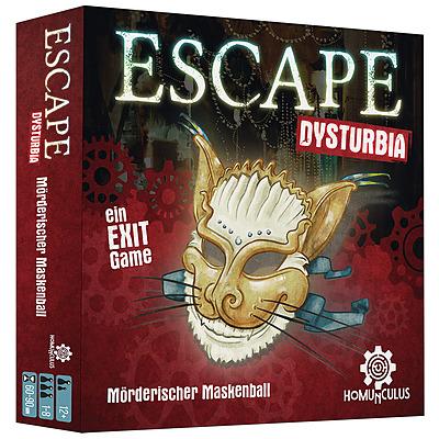 Einfach und sicher online bestellen: Escape Dysturbia in Österreich kaufen.