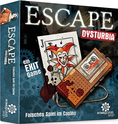 Einfach und sicher online bestellen: Escape Dysturbia: Falsches Spiel im Casino in Österreich kaufen.