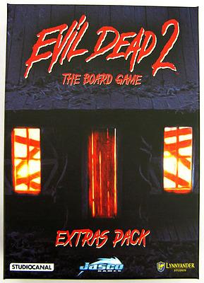 Einfach und sicher online bestellen: Evil Dead 2: The Board Game Extras Pack in Österreich kaufen.