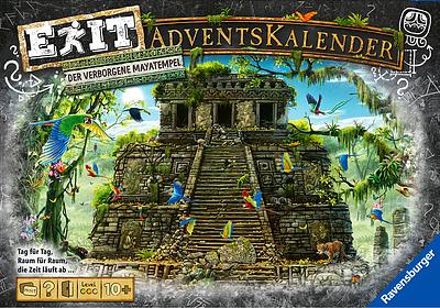 Einfach und sicher online bestellen: EXIT - Das Spiel: Adventskalender Mayatempel in Österreich kaufen.