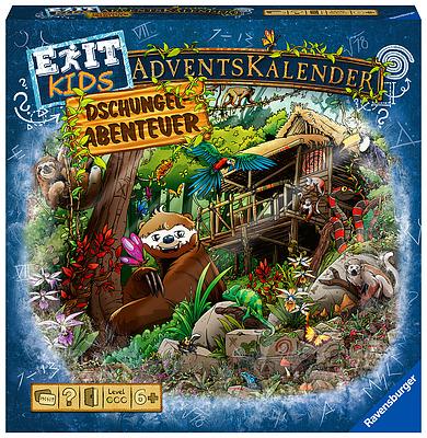Einfach und sicher online bestellen: EXIT - Das Spiel: Adventskalender Dschungel in Österreich kaufen.