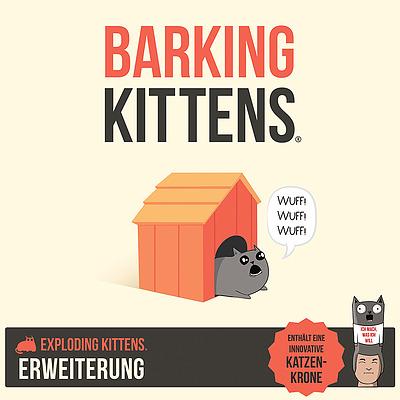 Einfach und sicher online bestellen: Exploding Kittens - Barking Kittens in Österreich kaufen.