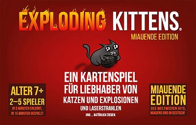 Einfach und sicher online bestellen: Exploding Kittens (Miauende Edition) in Österreich kaufen.