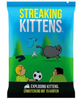 Einfach und sicher online bestellen: Exploding Kittens -  Streaking Kittens in Österreich kaufen.