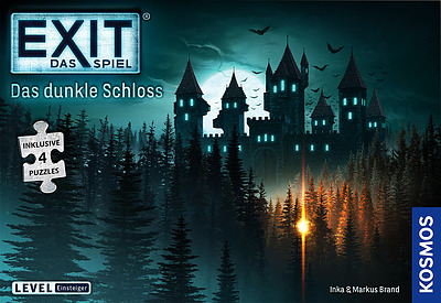 Einfach und sicher online bestellen: EXIT + Puzzle: Das dunkle Schloss in Österreich kaufen.