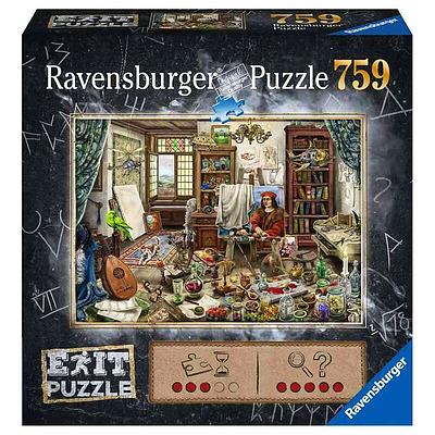Einfach und sicher online bestellen: EXIT Puzzle: Das Künstleratelier in Österreich kaufen.