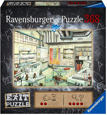Einfach und sicher online bestellen: EXIT Puzzle: Das Labor in Österreich kaufen.