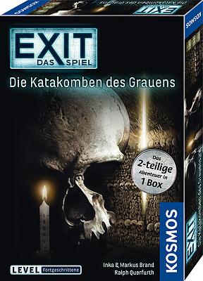 Einfach und sicher online bestellen: EXIT - Das Spiel: Die Katakomben des Grauens in Österreich kaufen.