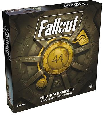 Einfach und sicher online bestellen: Fallout: Das Brettspiel - Neu Kalifornien in Österreich kaufen.