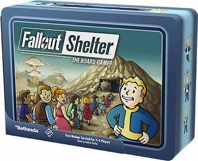 Einfach und sicher online bestellen: Fallout Shelter - Das Brettspiel in Österreich kaufen.