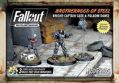 Einfach und sicher online bestellen: Brotherhood of Steel Knight-Captain Cade in Österreich kaufen.
