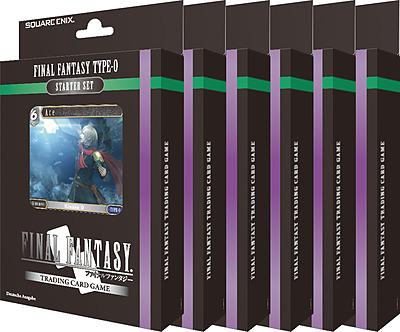 Einfach und sicher online bestellen: Final Fantasy TCG FF Type-0 Starter Set Display in Österreich kaufen.