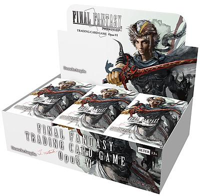 Einfach und sicher online bestellen: Final Fantasy TCG Opus 6 Booster Display in Österreich kaufen.