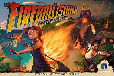 Einfach und sicher online bestellen: Fireball Island: The Curse of Vul Kar (Englisch) in Österreich kaufen.